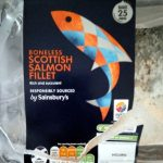 Boneless Scottish salmon fillet