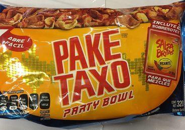 Botana surtida Paketaxo Sabritas party bowl