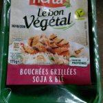 Bouchées grillées soja & blé