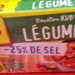 Bouillon KUB de légumes