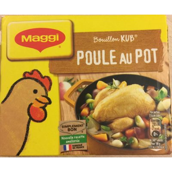 Bouillon Kub Poule au Pot