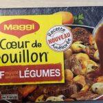 Bouillon bœuf petits légumes