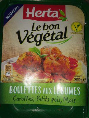 Boulettes aux légumes