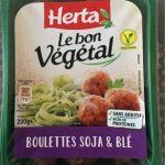 Boulettes soja et blé