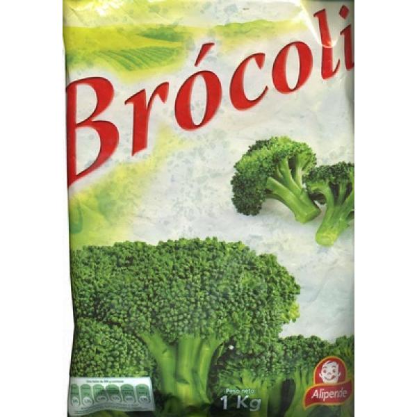 """Brócoli troceado congelado """"Alipende"""""""