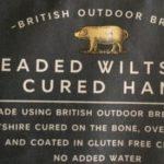 Breaded wiltshire cured ham