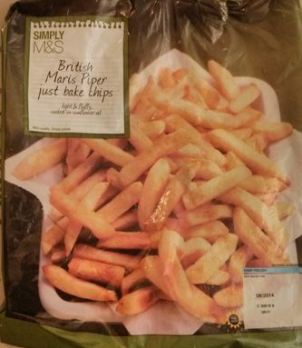 British Maris Piper Just Bake Chips