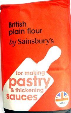 British plain flour