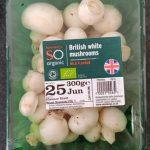 British white mushrooms