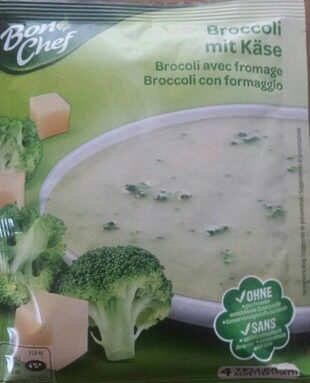 Brocoli avec fromage
