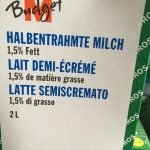 Budgetmilch 1