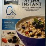 Buenos Días Avena Instant Moras y Sabor Yogurt