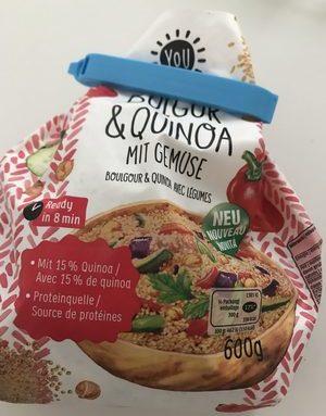 Bulgur & Quinoa mit gemüse