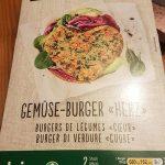 """Burger de légumes """"Coeur"""""""