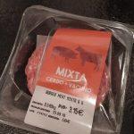 Burger meat mixto 6 unidades