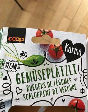 Burgers de légumes