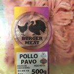 Burguer meat pollo pavo