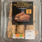 Butternut Squash & Spinach Croquettes