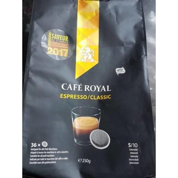 CAFE ROYAL espresso compatibles senseo dosettes x36