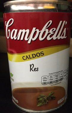 CALDO DE RES