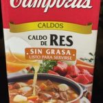 CALDO DE RES SIN GRASA