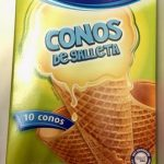 CONOS DE GALLETA