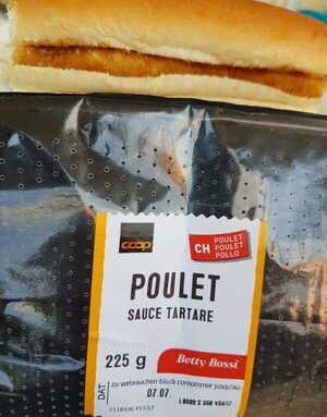 COOP Poulet Sauce Tartare