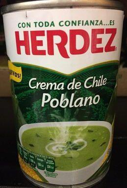 CREMA DE CHILE POBLANO