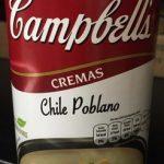CREMAS CHILE POBLANO