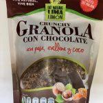 CRUNCHY GRANOLA CON CHOCOLATE