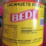 Cacahuete fries