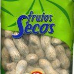 Cacahuetes con cáscara tostados con sal