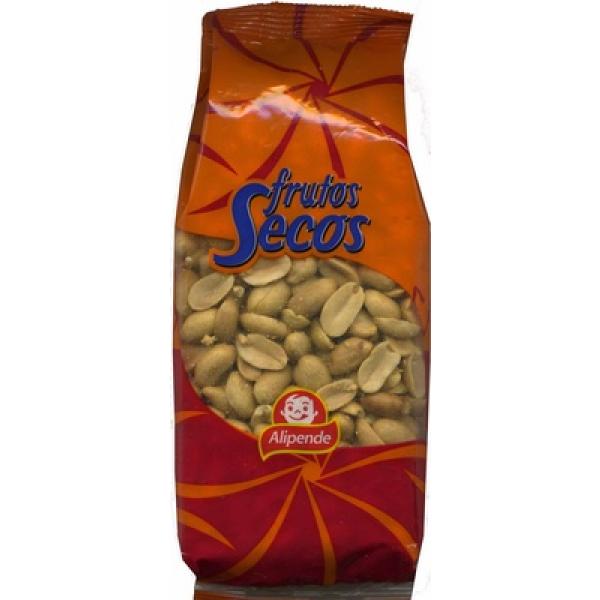 Cacahuetes fritos con sal