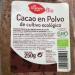 Cacao Polvo Bio 20-22 % MG