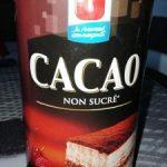 Cacao non sucré