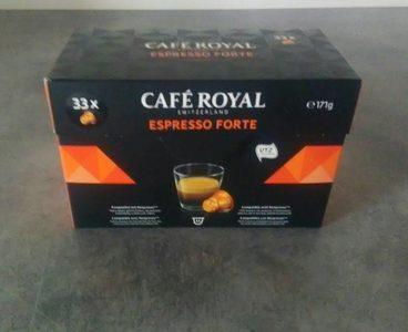 Café capsules Espresso Forte Café