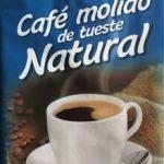 Café molido de tueste natural