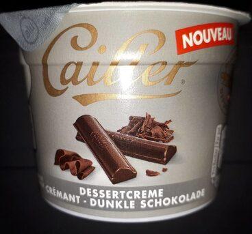 Cailler crème dessert chocolat noir