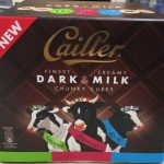 Cailler dark and milk