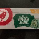 Caldo de verduras legumes