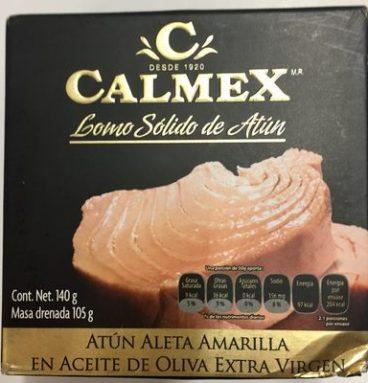 Calmex lomo sólido de atún