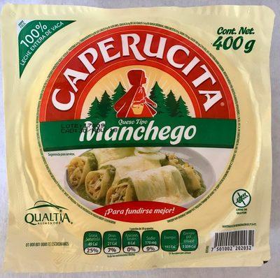 Caperucita queso tipo Manchego