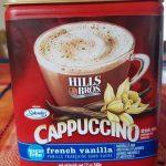 Cappuccino french vanilla