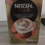 Cappuccino unsweetened taste