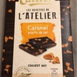 Caramel pointe de sel chocolat noir