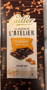 Caramel pointe de sel - chocolat noir