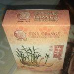 Caramelos de naranja y jengibre