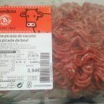 Carn picada de boví