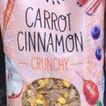 Carrot Cinnamon crunchy