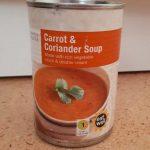 Carrot & coriandre soup